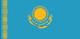 Kasachstan Flag