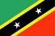 St. Kitts und Nevis Flag