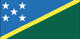 the Salomon-Inseln Flag
